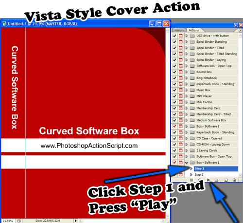 Vista Style Box Action