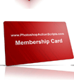 Membership Card Tilted