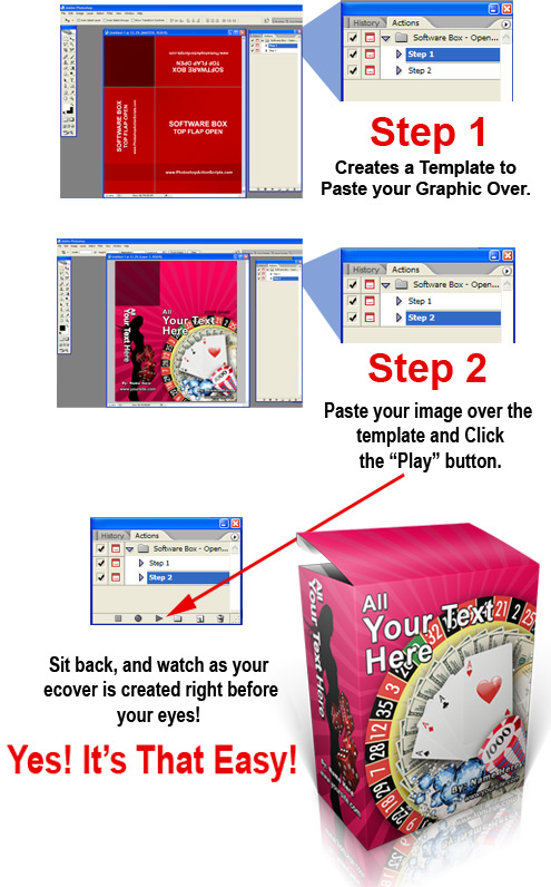 photoshop action scripts easy steps