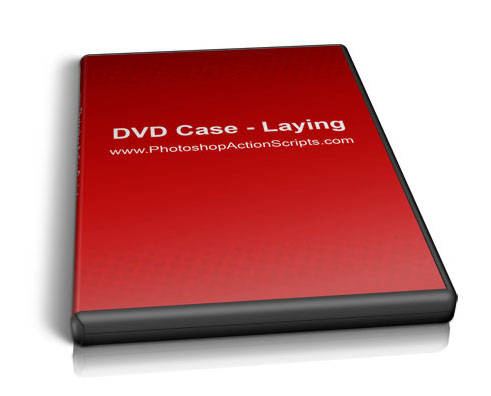 DVD Case Laying