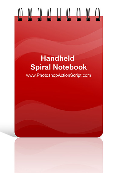Hand Held Spiral Notebook