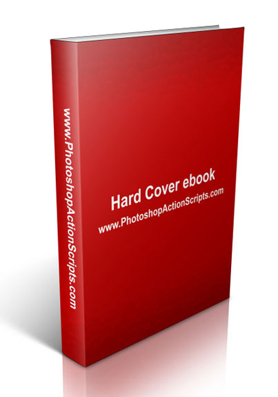 Hard Cover Book Standing