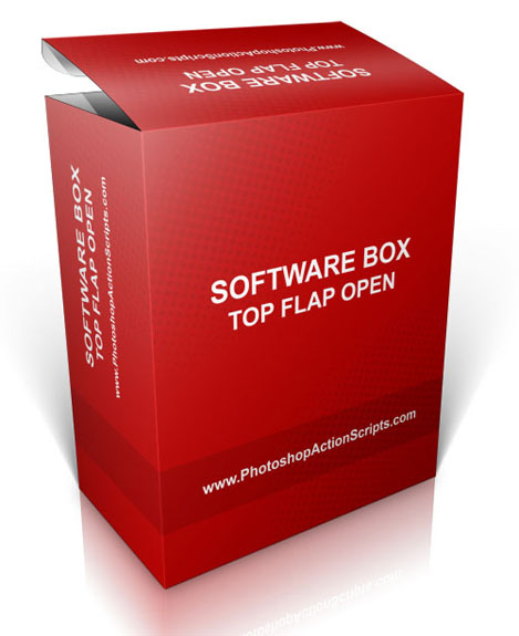 Open Top Software Box